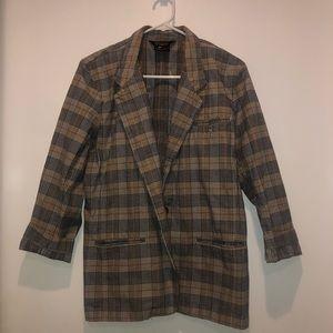 burberry patterned blazer ! by liz sports